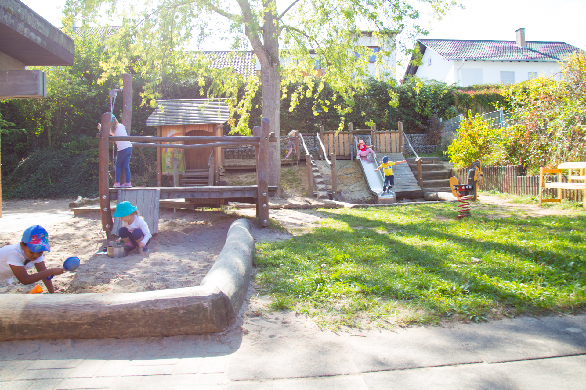 Kindergarten Rauenberg Aussenbereich